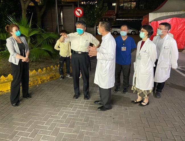 北市和平醫院2病患確診 今22名醫護隔離、急診暫停 | 華視新聞