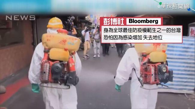 外媒看台疫情爆發 模範生形象受影響 | 華視新聞