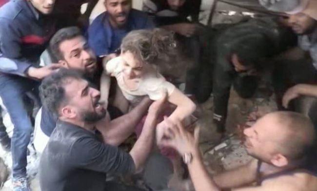 以巴衝突200死 6歲女壓在瓦礫堆找到了   華視新聞