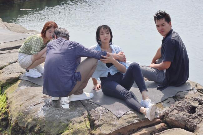 賴雅妍為《三隻小豬》落水尖叫 感謝工作人員戴口罩防疫 | 華視新聞