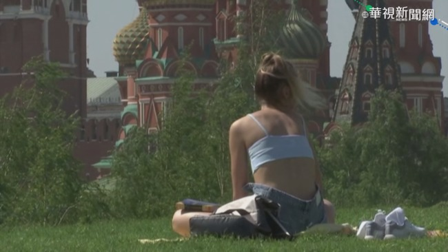 乾燥溫暖氣團影響 莫斯科5月飆30度 | 華視新聞
