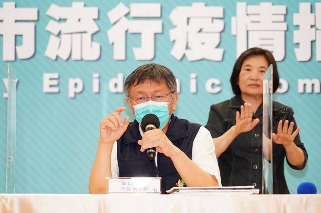 「由不得你」!柯文哲令:北市醫院工作人員全去打疫苗 | 華視新聞