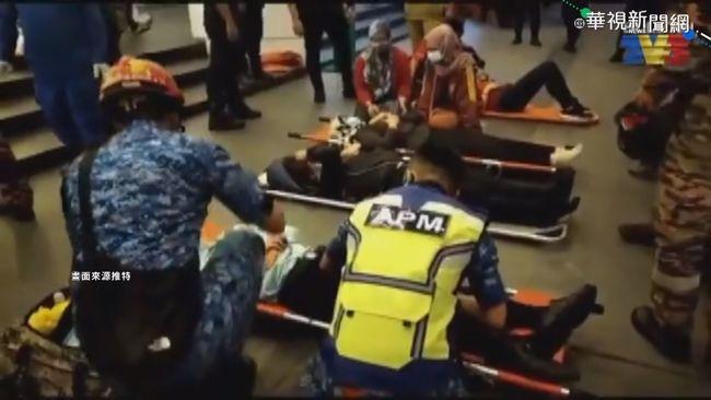 吉隆坡2輕軌列車相撞 213人輕重傷   華視新聞