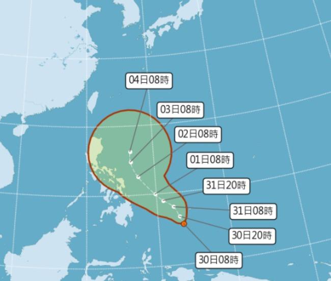 下波梅雨遇變數! 颱風「彩雲」最快今深夜生成   華視新聞