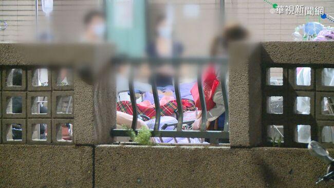 台北醫院病床排到室外畫面瘋傳!指揮中心4點聲明闢謠 | 華視新聞