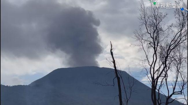 1天92地震.冒黑煙 剛果火山蠢蠢欲動 | 華視新聞