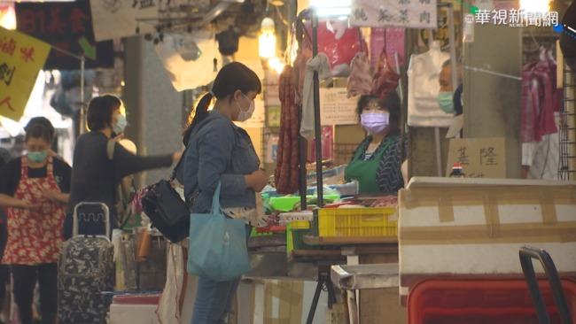 熟食攤設遮罩、禁試吃! 市場人流管控3大原則公布 | 華視新聞