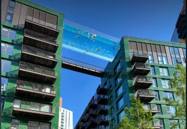 世界首座全透明「天空泳池」 僅限富住戶使用惹議   華視新聞
