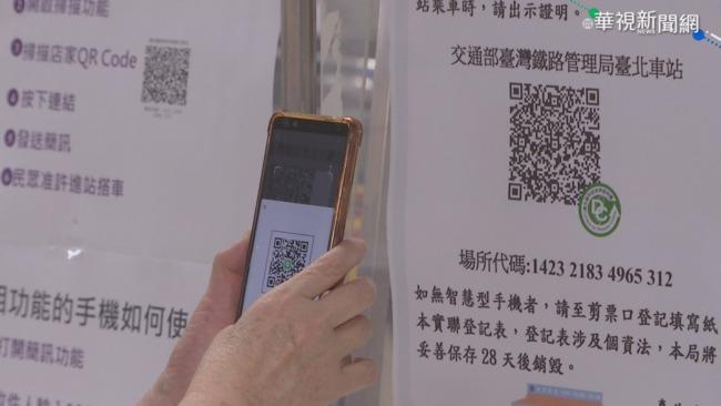 實聯制出現詐騙QR code!警籲傳送前務必確認「2點」   華視新聞