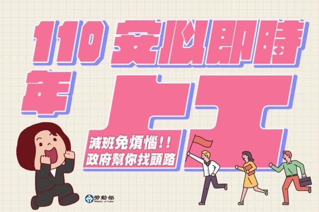 「安心就業計畫」延長至明年 每月最高可領1.2萬   華視新聞