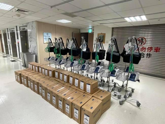 「救命神器」馬上到!賈永婕2天募到252台 將送各大醫院 | 華視新聞
