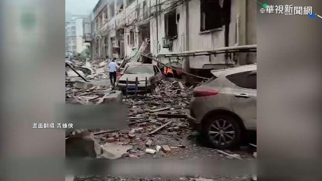 湖北菜市場爆炸幾乎全毀 11死37重傷   華視新聞