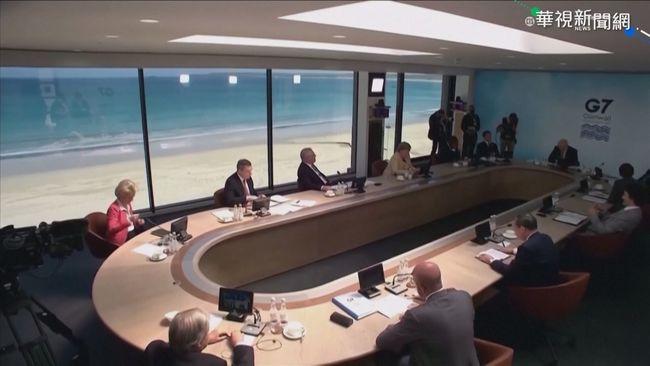 G7公報首納台海穩定 外交部:感謝重視!   華視新聞