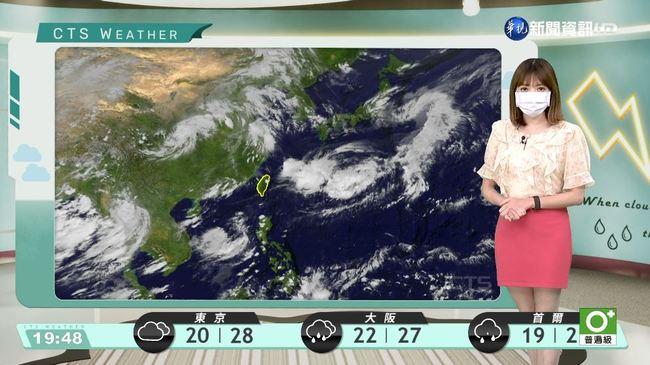 明局部地區注意雷雨 外島天氣多雲到晴 | 華視新聞