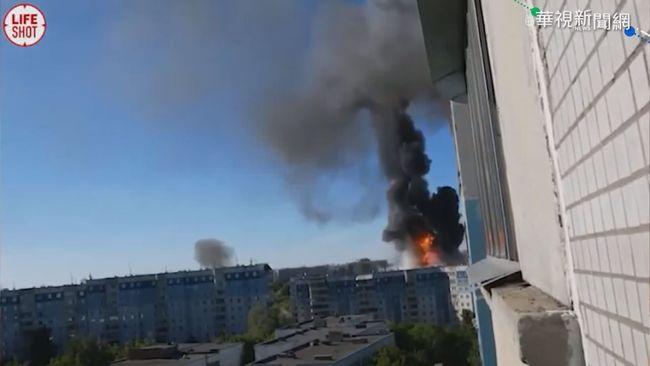 俄加油站爆炸烈焰沖天 至少35傷   華視新聞