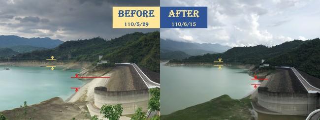 曾文水庫雨下對地方 共進帳「一座南化水庫蓄水量」   華視新聞