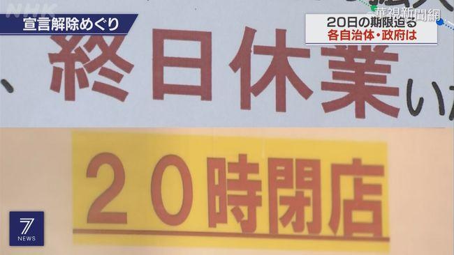 東京等9都道府縣 6/20將解除緊急事態 | 華視新聞