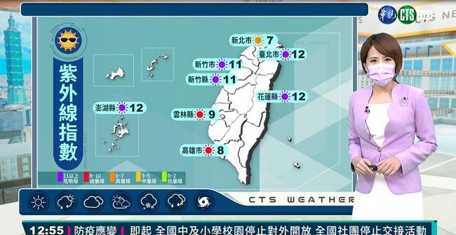 西南風影響 苗栗以南天氣不穩 | 華視新聞
