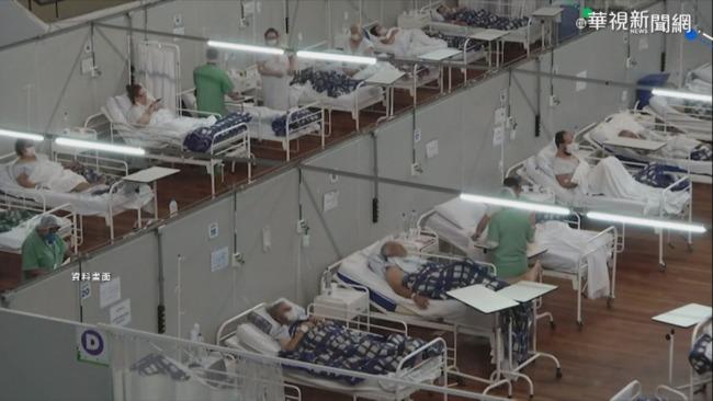 進入第三波疫情 巴西單日死亡、確診數創新高   華視新聞
