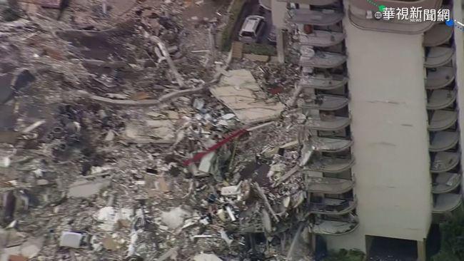 邁阿密公寓樓突坍塌 至少1死近百失聯 | 華視新聞