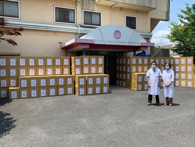 日本二度贈台AZ疫苗 旅日醫募40萬口罩回贈 | 華視新聞