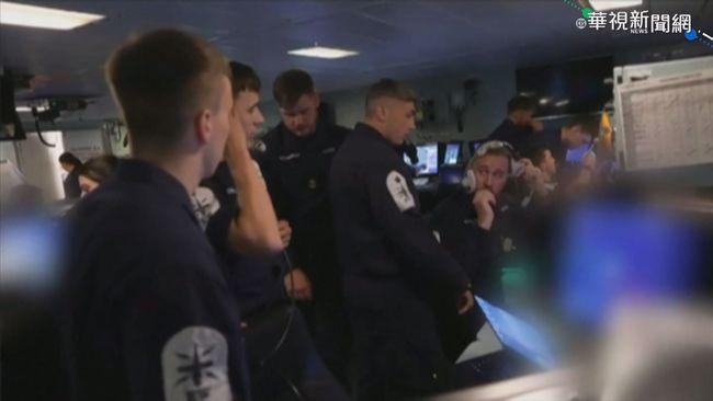 英艦隊遭俄戰機投彈 引國際高度關注   華視新聞