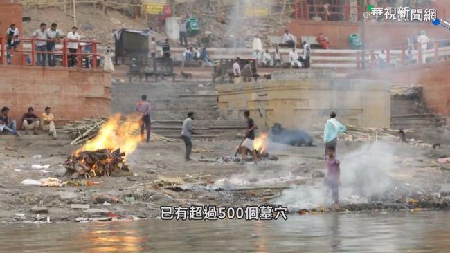 恆河畔埋染疫遺體 雨季恐沖刷入河   華視新聞