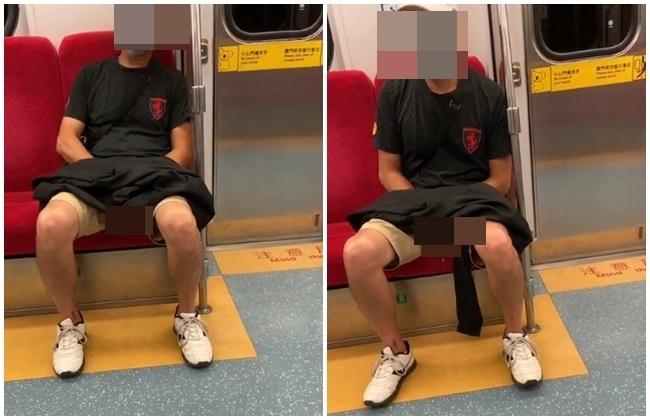 獨家/阿伯台鐵列車蓋外套自慰射精 畫面全都錄 | 華視新聞