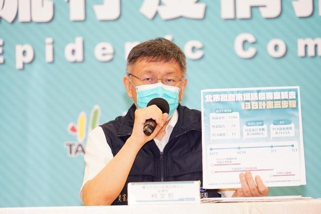 環南市場爆確診!柯文哲宣布「3大管制措施」 | 華視新聞