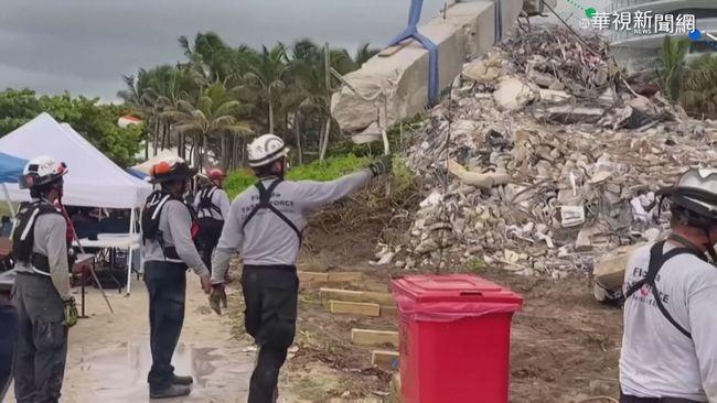 佛州爆破拆除坍塌大樓 將恢復搜救 | 華視新聞