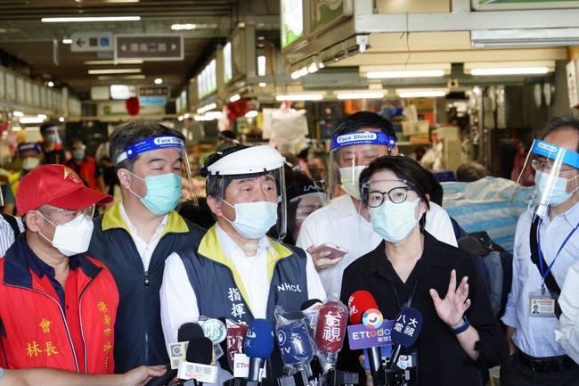 環南市場今復市 陳時中:台北3市場群聚與Detla變種無關 | 華視新聞