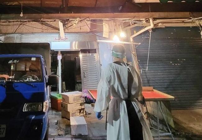 虎林街攤商疑發生口角 竟丟汽油彈釀火災   華視新聞