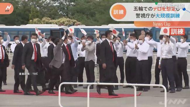 東奧防恐攻! 鐵路車站搜查隨身行李 | 華視新聞