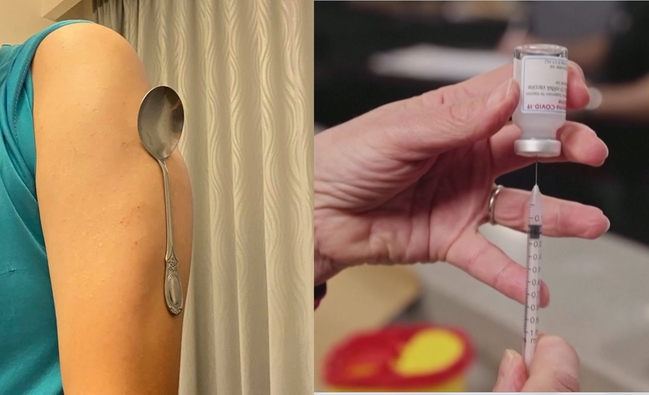 打完疫苗變萬磁王?醫師笑揭真相:油性皮膚+摩擦力... | 華視新聞