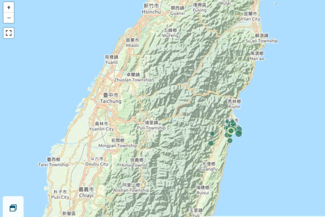 花蓮24小時內已連44震!鄭明典籲「下大雨要特別小心」 | 華視新聞