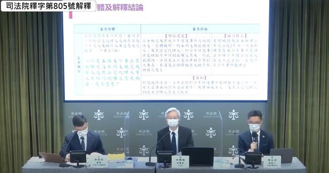 少年事件被害人到庭陳述意見案 大法官:部分違憲 | 華視新聞