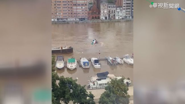 西歐百年最大洪災 125死千人失蹤 | 華視新聞
