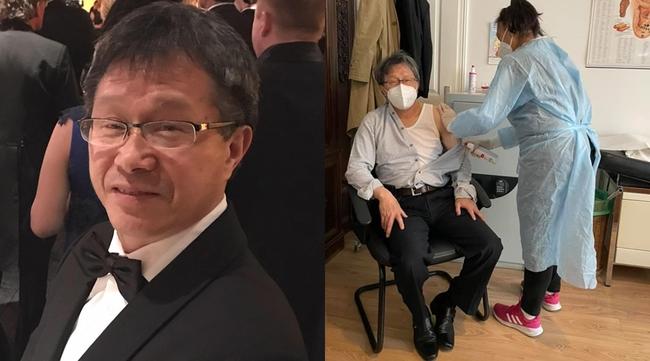 已打完2劑AZ!謝志偉公開接種歷程:「生龍活虎」 | 華視新聞