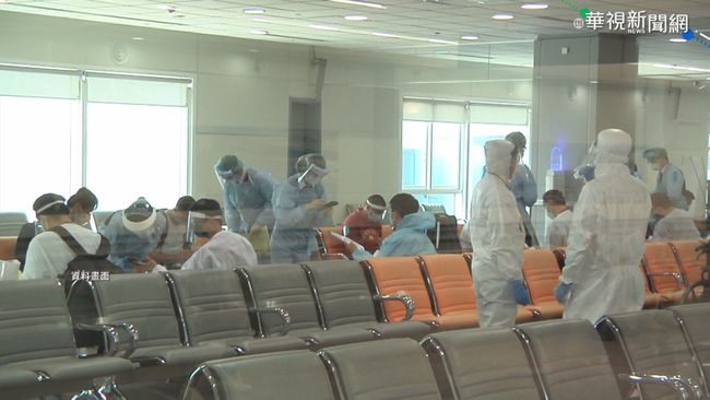 機場入境普篩增採檢室卻沒補人力?指揮中心說話了 | 華視新聞