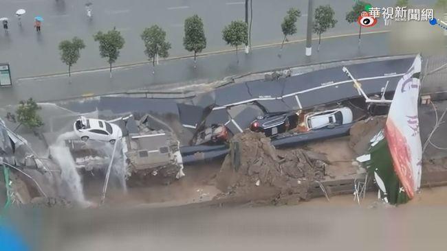 鄭州暴雨全城淹水 33死逾300萬人受災   華視新聞