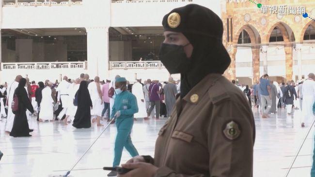 沙國女權進展 麥加首見女兵維安   華視新聞