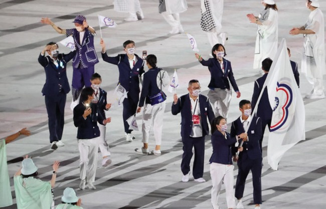 【影】東奧我國選手進場 日本主播喊「台湾です」 | 華視新聞