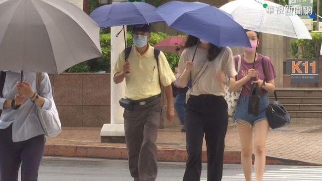 南台灣5縣市大雨特報!東北部飆38度高溫防中暑 | 華視新聞