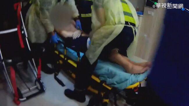 38歲男打AZ昏迷 警消破窗緊急救援 | 華視新聞