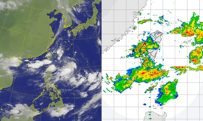 10縣市大雨特報!西南風偏強 中南部雨再下7天   華視新聞