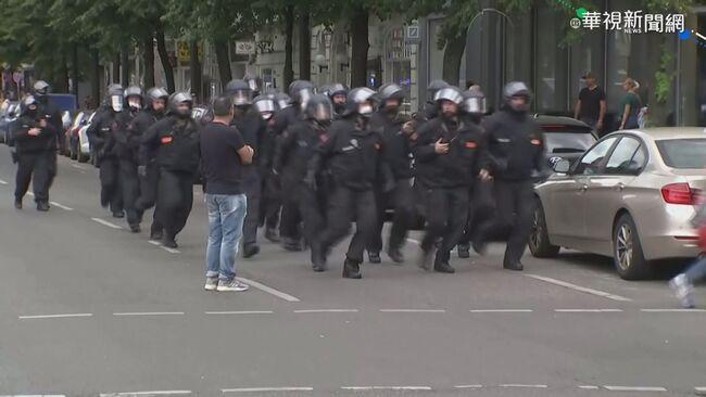 不滿防疫令! 德民眾上街抗議 與警爆衝突 | 華視新聞