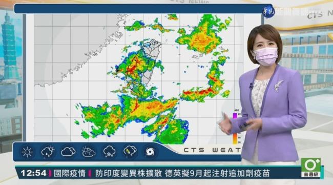 中南部容易出現局部豪雨 低窪地區慎防淹水 | 華視新聞