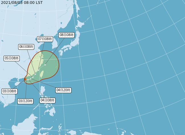 熱帶低壓生成!不排除成「盧碧」颱風 路徑估穿越台灣海峽 | 華視新聞