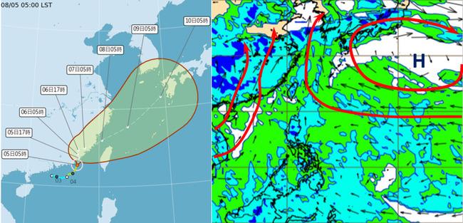 「盧碧」外圍環流帶雨!南部大雨特報 各地防致災性降雨 | 華視新聞