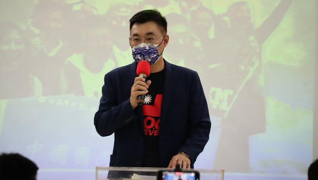 黨主席選戰爭取韓國瑜支持?江啟臣:有保持聯繫   華視新聞